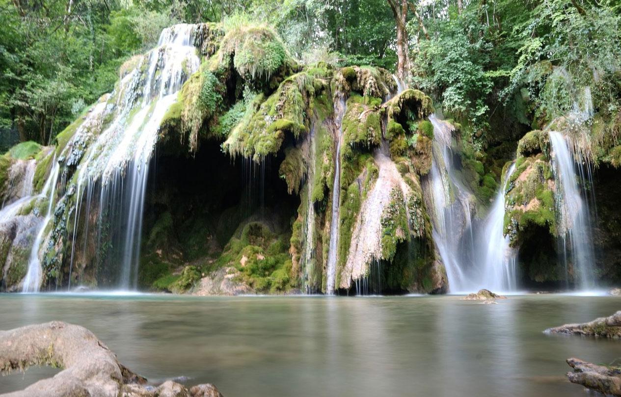 Les cascades des tufs